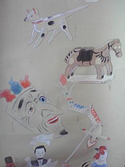 金山平三「郷土玩具」2.JPG