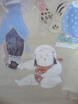 金山平三「郷土玩具」4.JPG