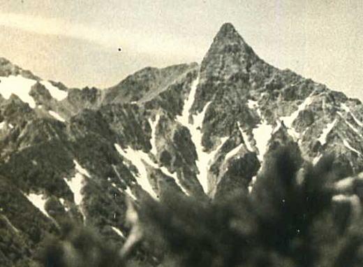 鎗ヶ岳1949.jpg