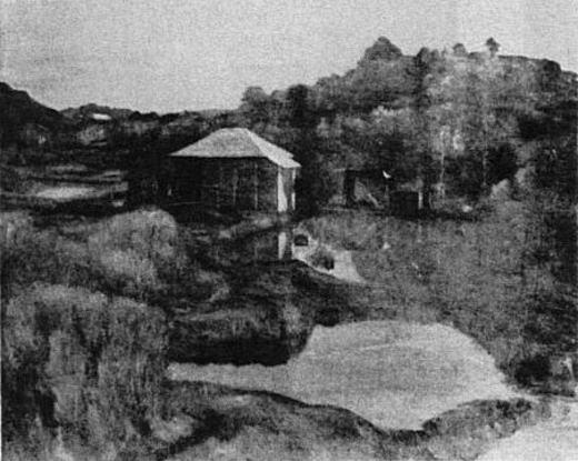 長野新一「養魚場」1924.jpg