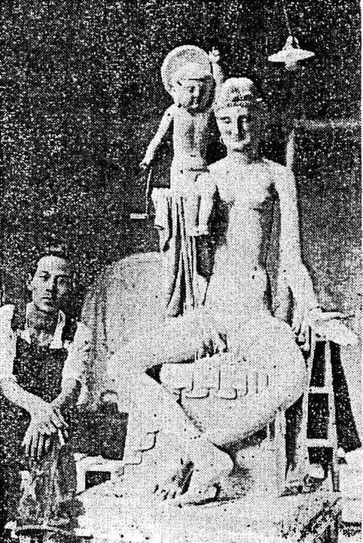 陽咸二アトリエ(降誕の釈迦1929).jpg