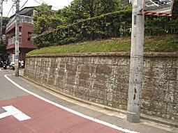 雑司ヶ谷道大谷石垣2.JPG