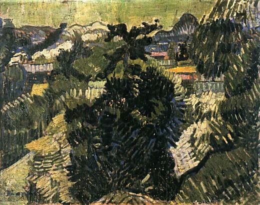靉光「屋根の見える風景」1929.jpg