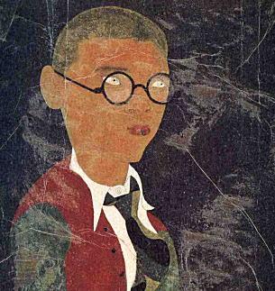 靉光「自画像」(部分)1934.jpg