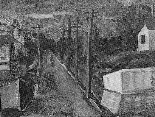 鬼頭鍋三郎「落合風景」1923.jpg