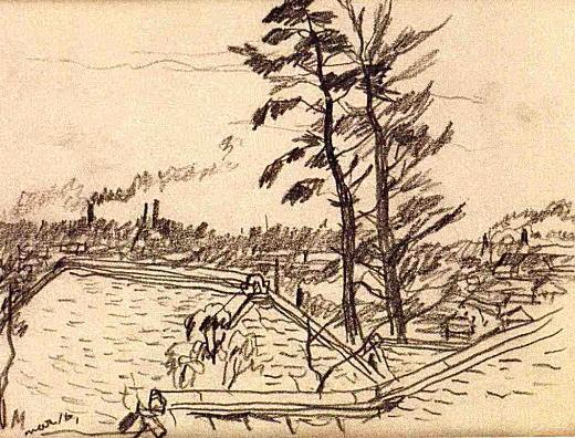 『屋根と二本の木』(No.24).jpg