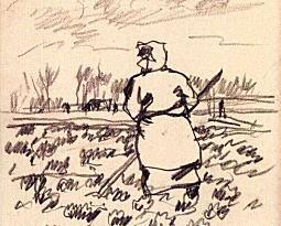 『畑に立つ農婦』(No.23).jpg
