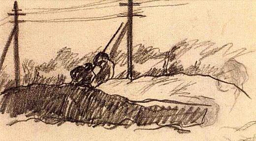 『野原と電柱』(No.27).jpg