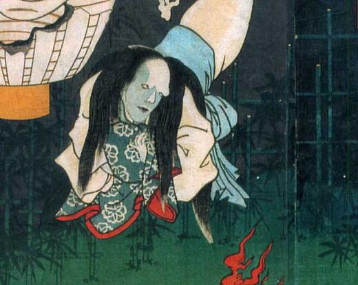 三代豊国「お岩の亡霊」1861部分.jpg