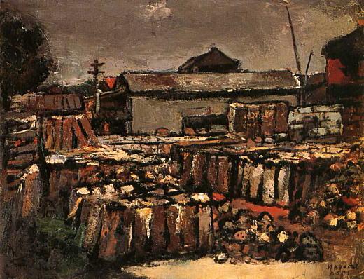中村節也「石置場風景」1929.jpg