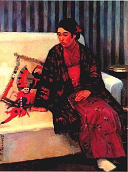 刑部人「少女」1928.jpg