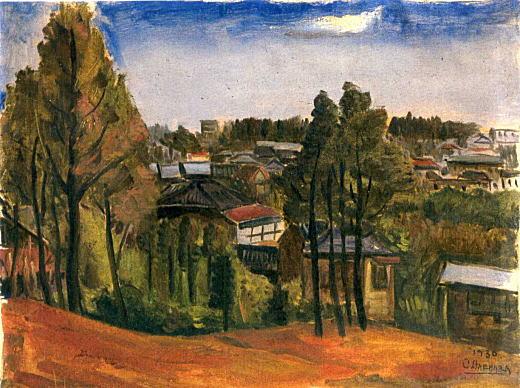 南風原朝光「風景」1930.jpg