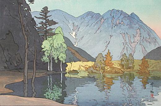 吉田博「穂高山」1926.jpg