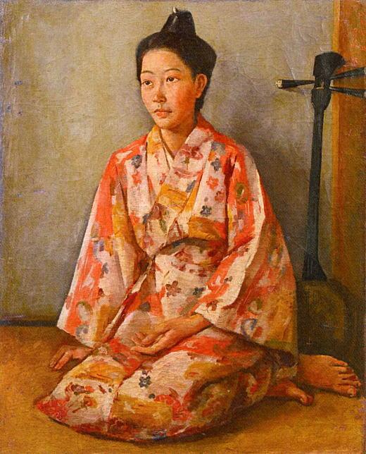 名渡山愛順「首里の追憶」1946.jpg
