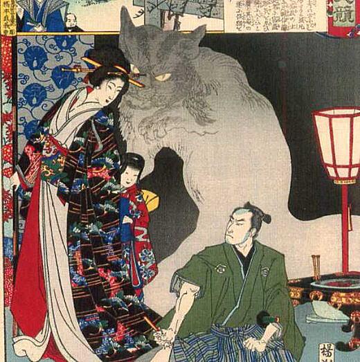 周延「鍋島化猫騒動」1886.jpg