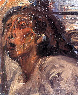 夏目利政「褐色の自画像」1965頃.jpg