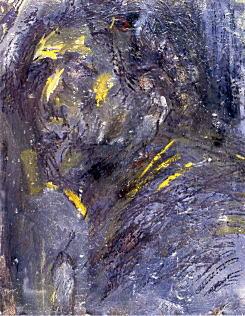 夏目利政「黒の自画像」1967.jpg