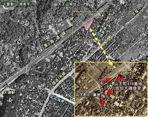 大磯山王町空中1946.jpg