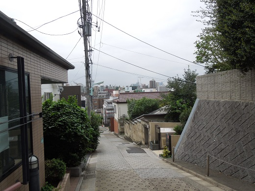 安部磯雄邸跡.JPG