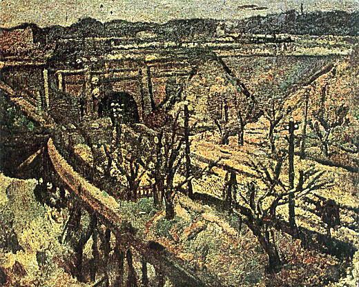小島善太郎「四ツ谷見附」1914.jpg