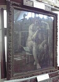 小島善太郎初期作品1「エチュード裸婦」1922.JPG
