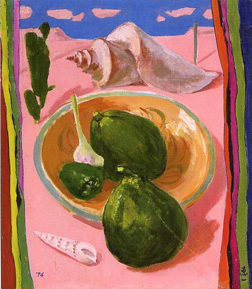 山元恵一「ペルーの皿」1974.jpg