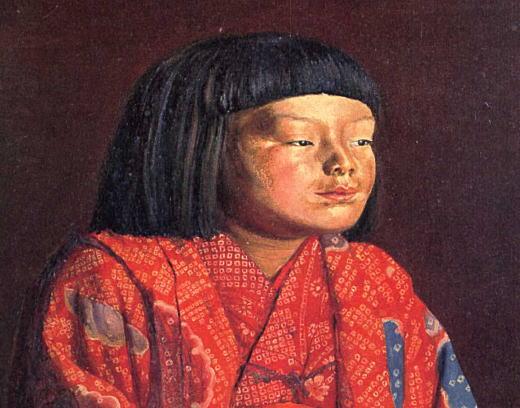 岸田劉生「童女図(麗子立像)」1923部分.jpg