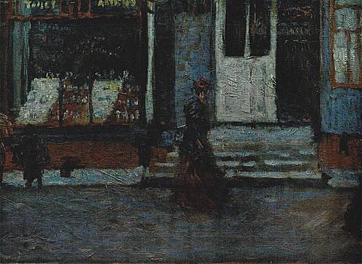 岸田劉生「築地居留地」1911.jpg