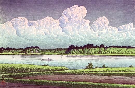 川瀬巴水「手賀沼風景」1930.jpg