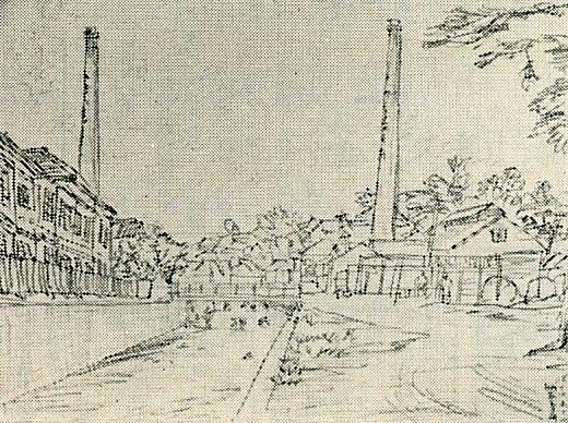 平塚運一「染物の流し洗い」1939.jpg
