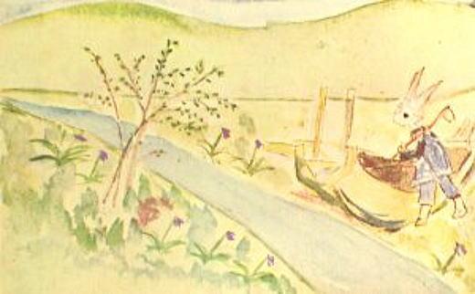廣島正「かちかち山の春」1923.jpg
