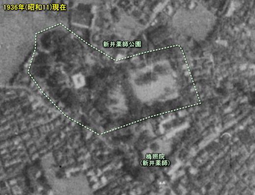 新井薬師1936空中.jpg