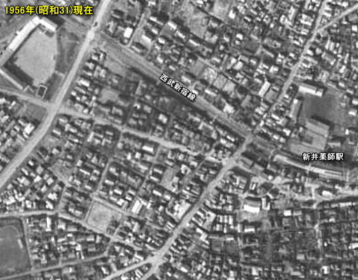 新井薬師駅前1956.jpg