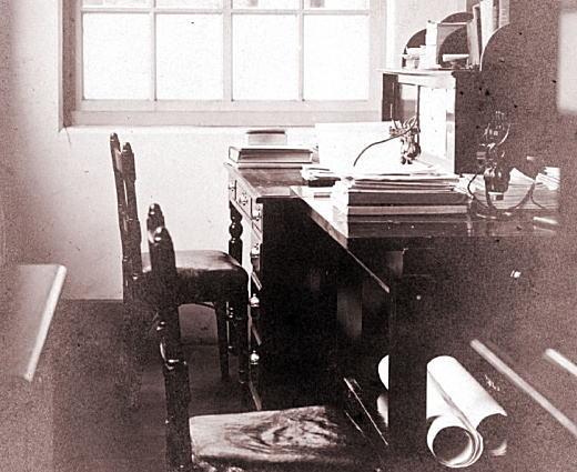 早大理工科電気工学主任室1911.jpg