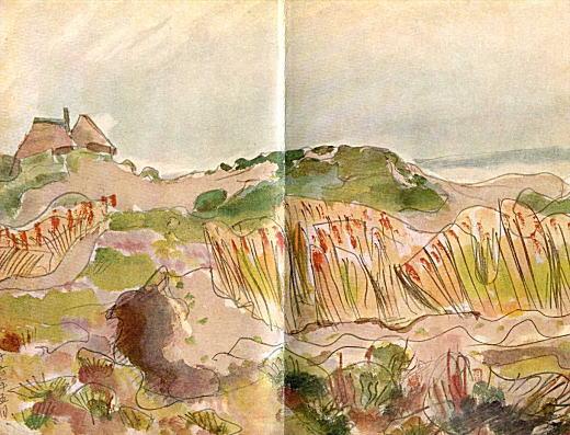 曾宮一念「麦秋(白潟)」1943.jpg