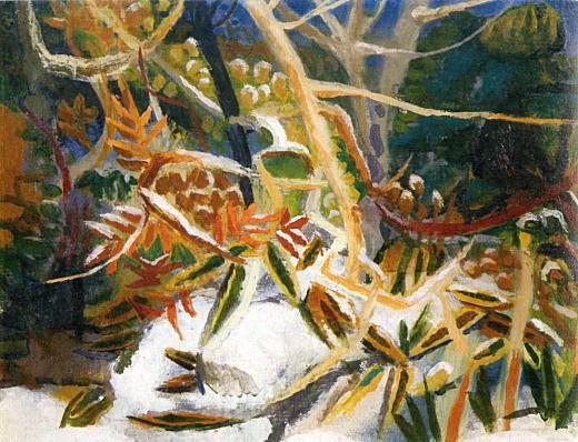 木村荘八「残雪」1942.jpg