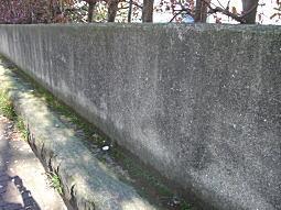 東京第一衛戍病院セメント塀.JPG