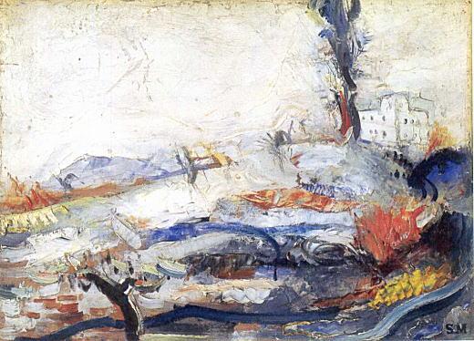 松本竣介「丘の風景」1931頃.jpg