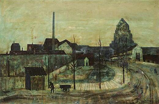 松本竣介「議事堂のある風景」1942.jpg