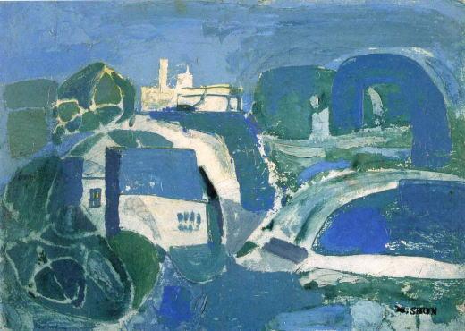 松本竣介「青の風景」1940.jpg
