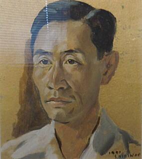 桐野江節雄「自画像」1951.jpg