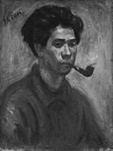 江藤純平「自画像」1923.jpg