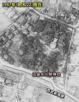 沼袋氷川明神社1947.jpg