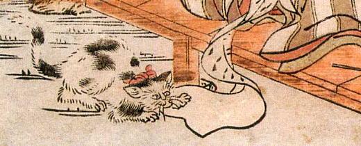湖龍斎「見立忠臣蔵七段目」1780頃.jpg