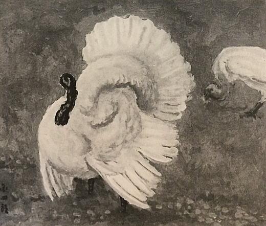 満谷国四郎「七面鳥」1935.jpg