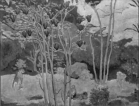 満谷国四郎「庭の早春」1931.JPG