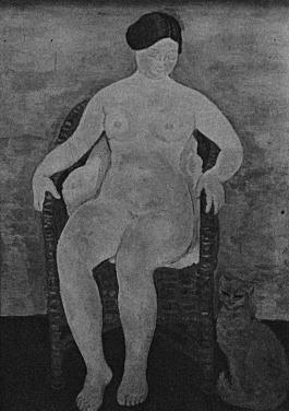 満谷国四郎「籐椅子」1929帝展.jpg