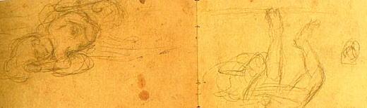 熊谷守一「轢死スケッチ」1903.jpg