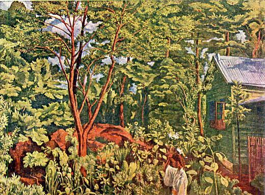 牧野虎雄「庭」1919.jpg