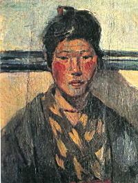 甲斐仁代「自画像」1923.jpg